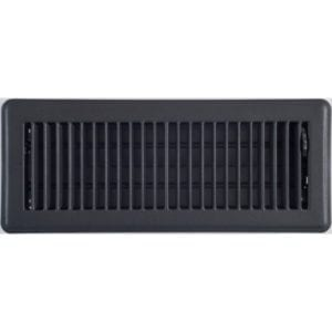 charcoal louvered floor vent 100x300mm low-600x600